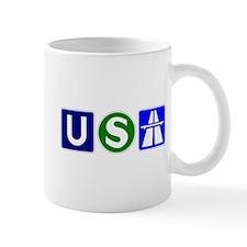 USA Bahn Coffee Mug