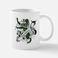Davidson Tartan Lion Mug