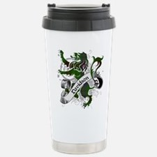 Davidson Tartan Lion Stainless Steel Travel Mug