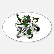 Davidson Tartan Lion Decal