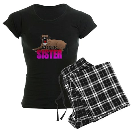 Boxer Sister Women's Dark Pajamas