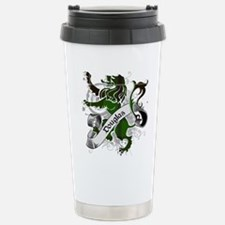 Douglas Tartan Lion Travel Mug