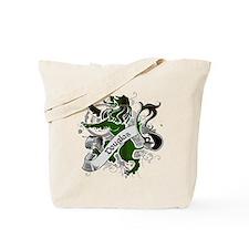 Douglas Tartan Lion Tote Bag