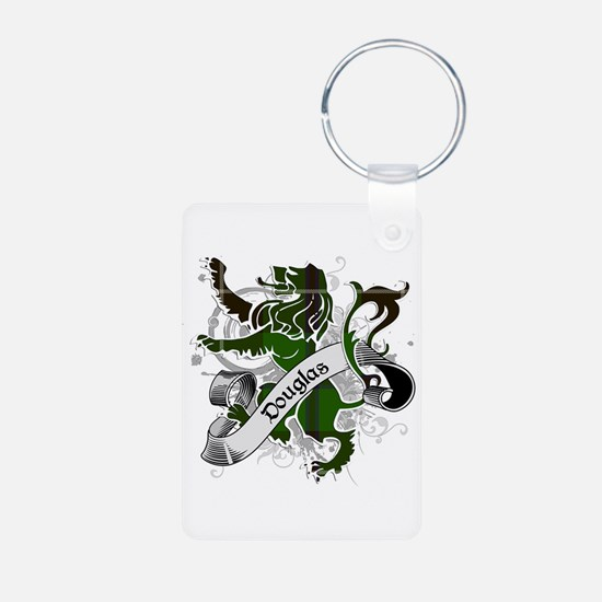 Douglas Tartan Lion Keychains
