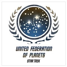 United Federation of Planets Poster