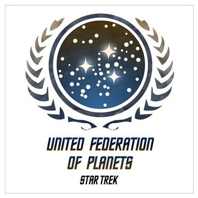 United Federation of Planets Canvas Art