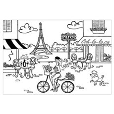 Paris Print Framed Print