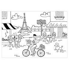 Paris Print Poster