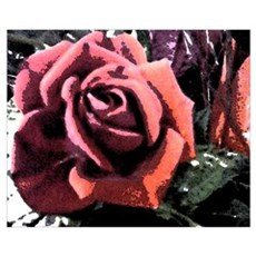 Rose Painting Canvas Art