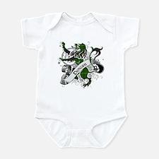 Duncan Tartan Lion Infant Bodysuit