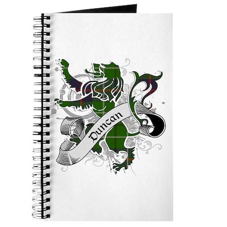 Duncan Tartan Lion Journal