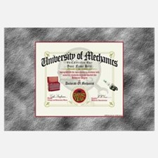 Mechanic Diploma PERSONALIZED