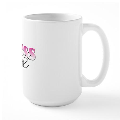 Chess girl Large Mug