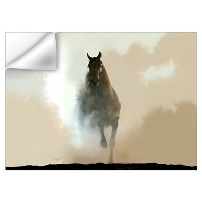 Misty Horse Wall Decal