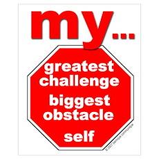 Mini Greatest Challenge Print Poster