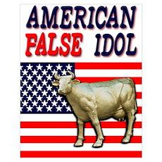 American False Idol Poster