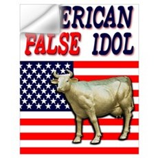 American False Idol Wall Decal