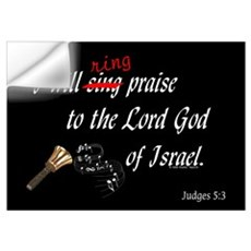 Ring Praise Black Wall Decal