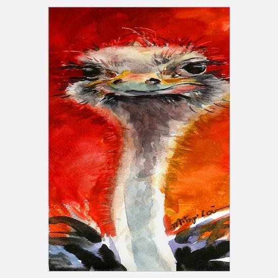 Ostrich Print