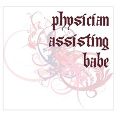 Physician Assisting Babe Canvas Art