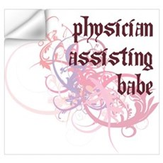 Physician Assisting Babe Wall Decal