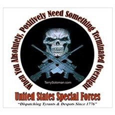 Military Special Forces Poster