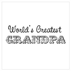 World's Greatest Grandpa Poster