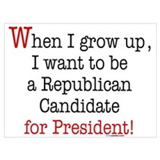 ... Republican Candidate Poster