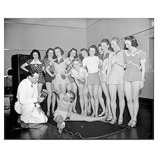 Dance Class, 1938 Poster