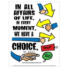 We Have a Choice Poster