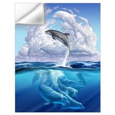Dolphonic Symphony Wall Decal
