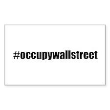 #occupywallstreet Decal
