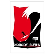 Nobody Surfs Like a Florida Girl Poster
