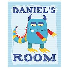 Daniel's ROOM Mallow Monster Poster