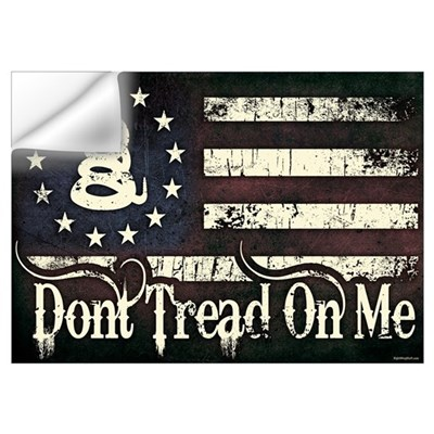 DTOM - Snake Flag Wall Decal