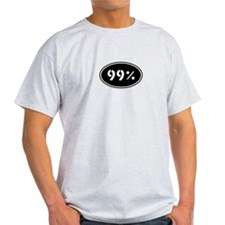 99% Occupy Wall St NYC Protes T-Shirt