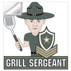 Grill Sergeant Wall Decal