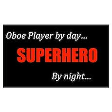 Oboe Gift Poster