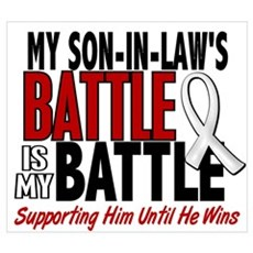 My Battle Too 1 PEARL WHITE (Son-In-Law) Framed Pa Poster
