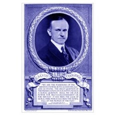 Calvin Coolidge Poster