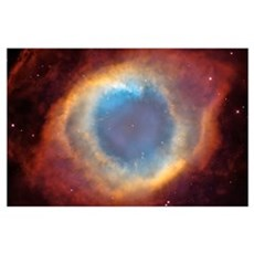 """""""Helix Nebula"""" Poster"""