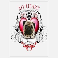 My Heart Belongs to a Pug