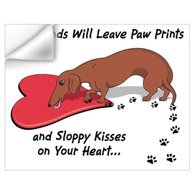 Sloppy Kisses Wall Decal