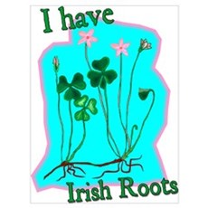 I Have Irish Roots Poster