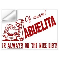 Nice List Abuelita Wall Decal