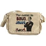 The Name's James Baud Messenger Bag