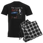 The Name's James Baud Men's Dark Pajamas