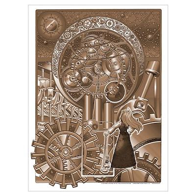Clockwork Universe Poster