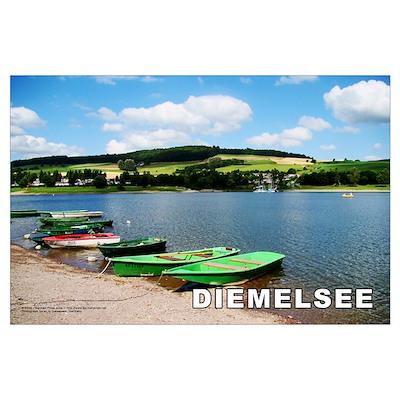 Diemelsee print Poster