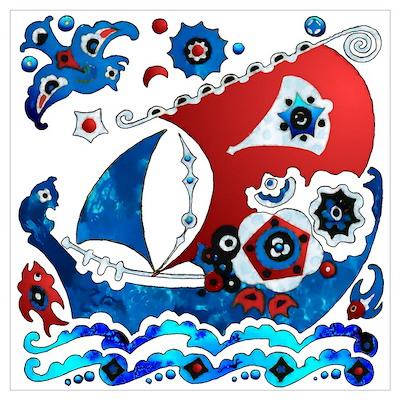 Danish Seas Poster